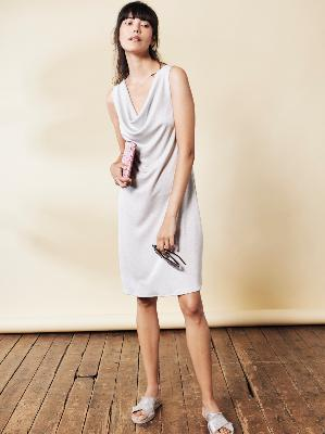 ROBE COURTE EN LUREX® LISA